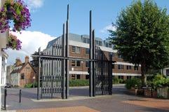 Triumf- portar, Basingstoke Arkivbild