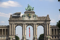 triumfalny łękowaty Brussels obrazy stock