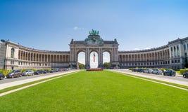 Triumfalny łuk w Bruksela, Belgia Obraz Royalty Free