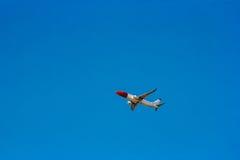 Triumfera i skiesna Royaltyfri Foto