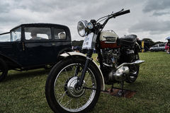 Triumoh 1958 Classic Bike Event Stock Photography