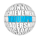 Triumph Royalty Free Stock Image