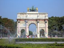 Triomphe arch Stock Image