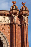 Triumph Arch (Arc de Triomf), Barcelona, Spain Stock Photo