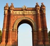 Triumph Arch, Barcelona. Spain Stock Photography