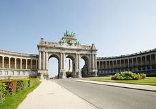 Triumph Arch in Brussels Stock Photography
