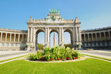 Triumph Arch in Brussels Royalty Free Stock Images