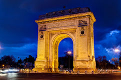 Triumph Arch. The triumph Arch from Bucharest Stock Photo