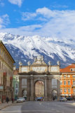 Triumph Arch - Innsbruck Austria Royalty Free Stock Photography