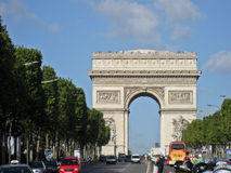 Triumph Arch Paris Royalty Free Stock Image