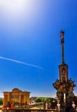 Triumph Archaangel San Raphael Puerta del Puente Cordoba Spain Arkivfoton
