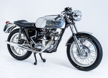 Triumph bonneville. British Classic Triumph bonneville motorcycle royalty free stock photography