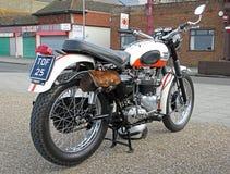Triumph bonneville motorcycle Stock Photo