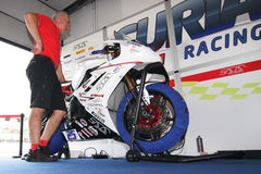 Triumph Daytona 675 Power team by Suriano Stock Photo