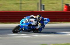 Triumph Daytona race bike Stock Images