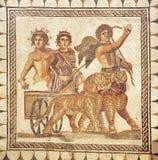 Triumph del Bacchus, mosaico romano, Andalucía, España Fotografía de archivo