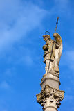 Triumph del santo Rafael Monument en Córdoba fotografía de archivo