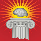 Triumph des Intellekts Lizenzfreies Stockfoto