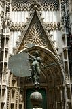 The Triumph of Faith Statue. Seville - Spain royalty free stock photo
