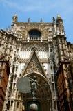 The Triumph of Faith Statue. Seville - Spain stock photo