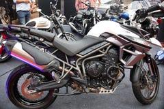 Triumph-fietsen Royalty-vrije Stock Foto