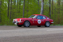 1968 Triumph GT 6 at the ADAC Wurttemberg Historic Rallye 2013 Royalty Free Stock Photo
