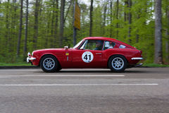 1968 Triumph GT 6 en el ADAC Wurttemberg Rallye histórico 2013 Imagen de archivo