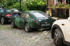 Triumph GT6 rostar på gatan Arkivbilder