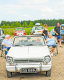 Triumph Herald;  Rally in Inverness. Stock Images