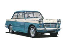 Triumph Herald Vitesse Royalty Free Stock Images