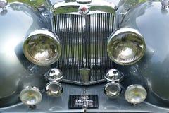1947 Triumph klassisches Weinleseauto des offenen Tourenwagens Lizenzfreie Stockfotos