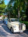 Triumph Mayflower auf Weinlese-Auto-Parade Stockfotos