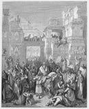 Triumph Mordecai royalty ilustracja