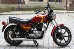 Triumph motocykl Zdjęcie Royalty Free