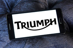 Triumph motor logo Stock Photography