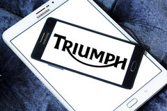 Triumph motor logo Royalty Free Stock Photography