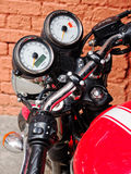 Triumph Motorcycle Royalty Free Stock Photography