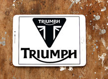 Triumph motorcycles logo Stock Photo