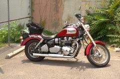 Triumph motorcykel Royaltyfri Fotografi