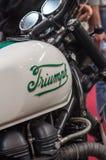 Triumph motorcykel Royaltyfri Bild