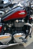 Triumph-Motorfietsen Stock Afbeeldingen