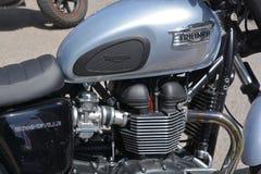 Triumph-Motorräder Stockbild
