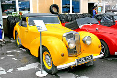 Triumph roadster 1800 Arkivfoton