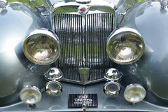1947 Triumph Roadster classic vintage car Royalty Free Stock Photos