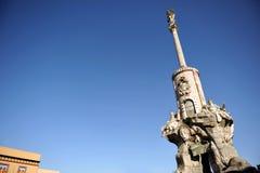 The triumph of San Rafael, Cordoba, Andalusia, Spain Stock Images