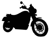 Triumph Scrambler Motorbike royalty free stock images