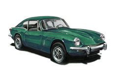 Triumph Spitfire GT8 Royalty Free Stock Photo