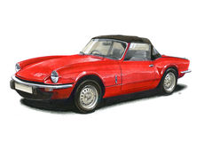 Triumph Spitfire 1500 Stock Photo