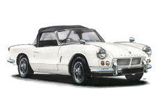 Triumph Spitfire Mk1 Royalty Free Stock Photography