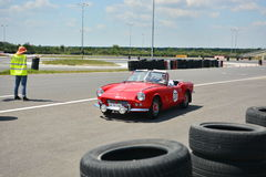Triumph Spitfire royalty free stock images